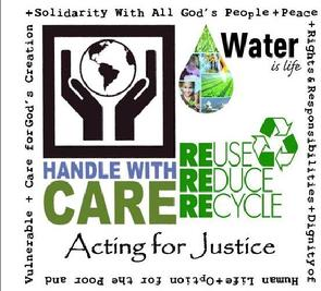 Acting for Justice, Catholic Social Teaching, Care for God's Creation, Generations of Faith, Church of St. Therese, Chesapeake, VA