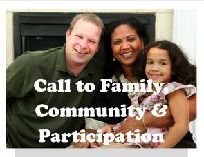 Call to Family Community Participation, Catholic Social Teaching, Church of St. Therese, Chesapeake, VA